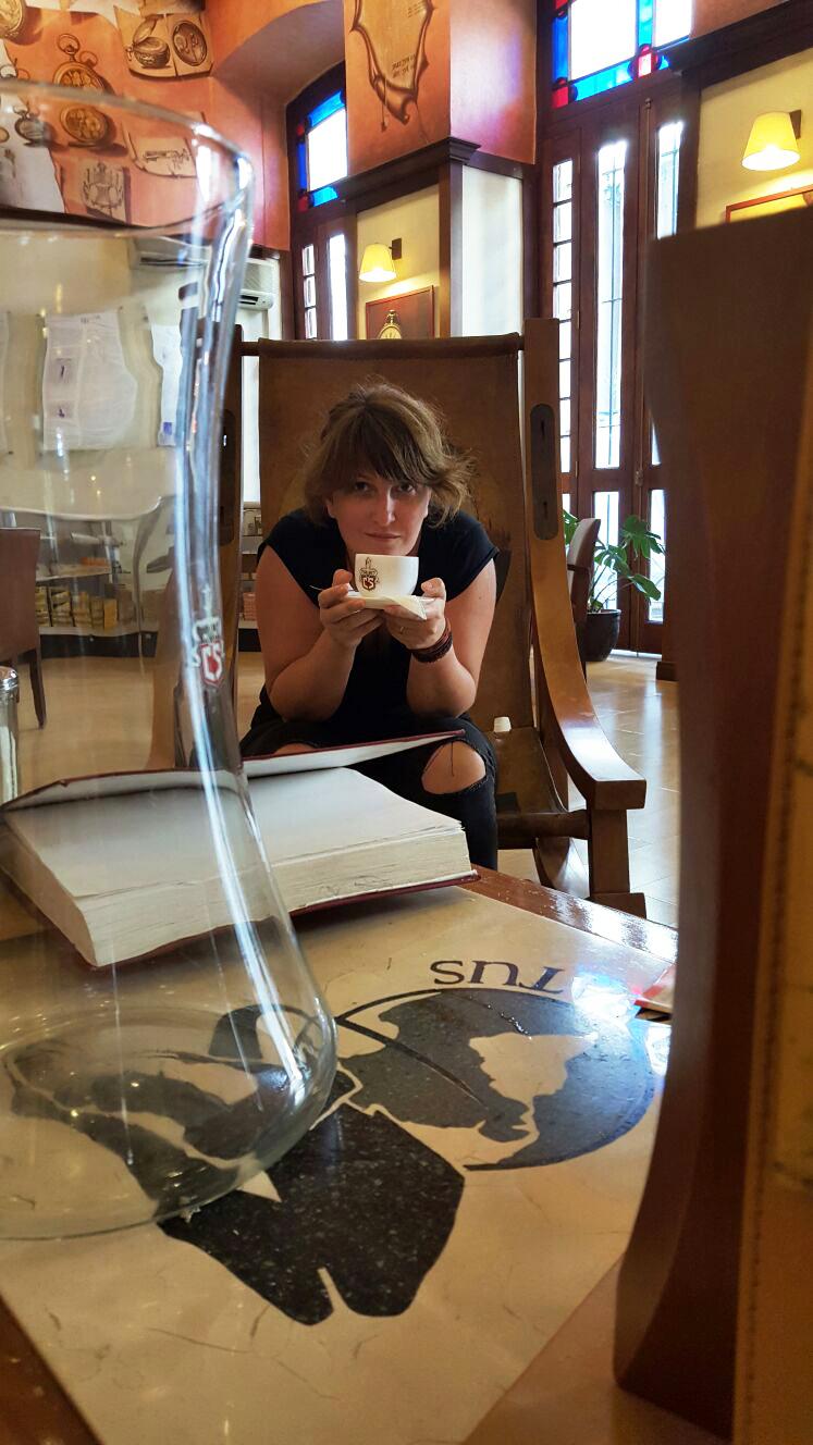 Cafe cubano - o aroma foarte puternica