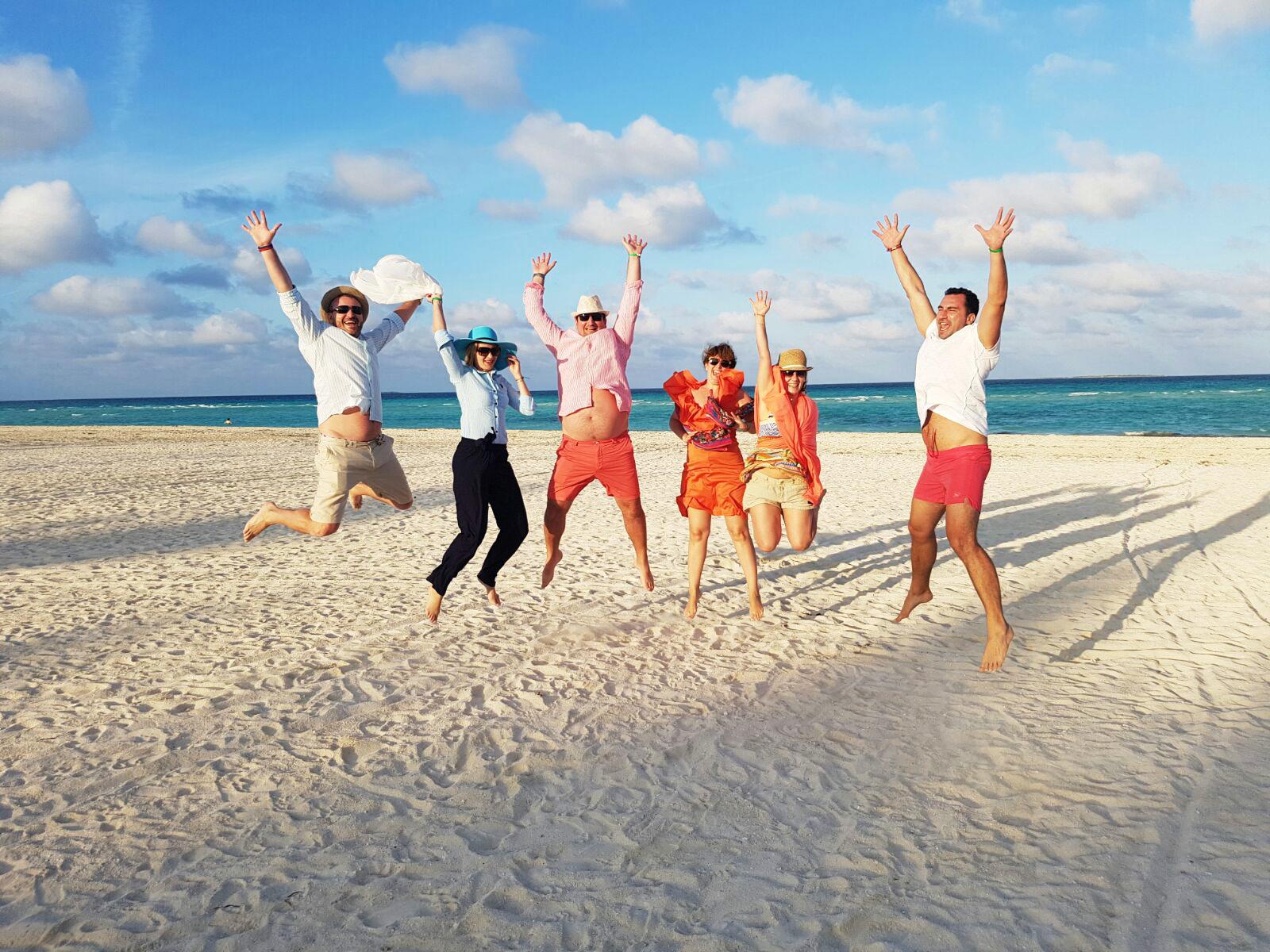 Evadati pe plaja Cayo Guillermo :))